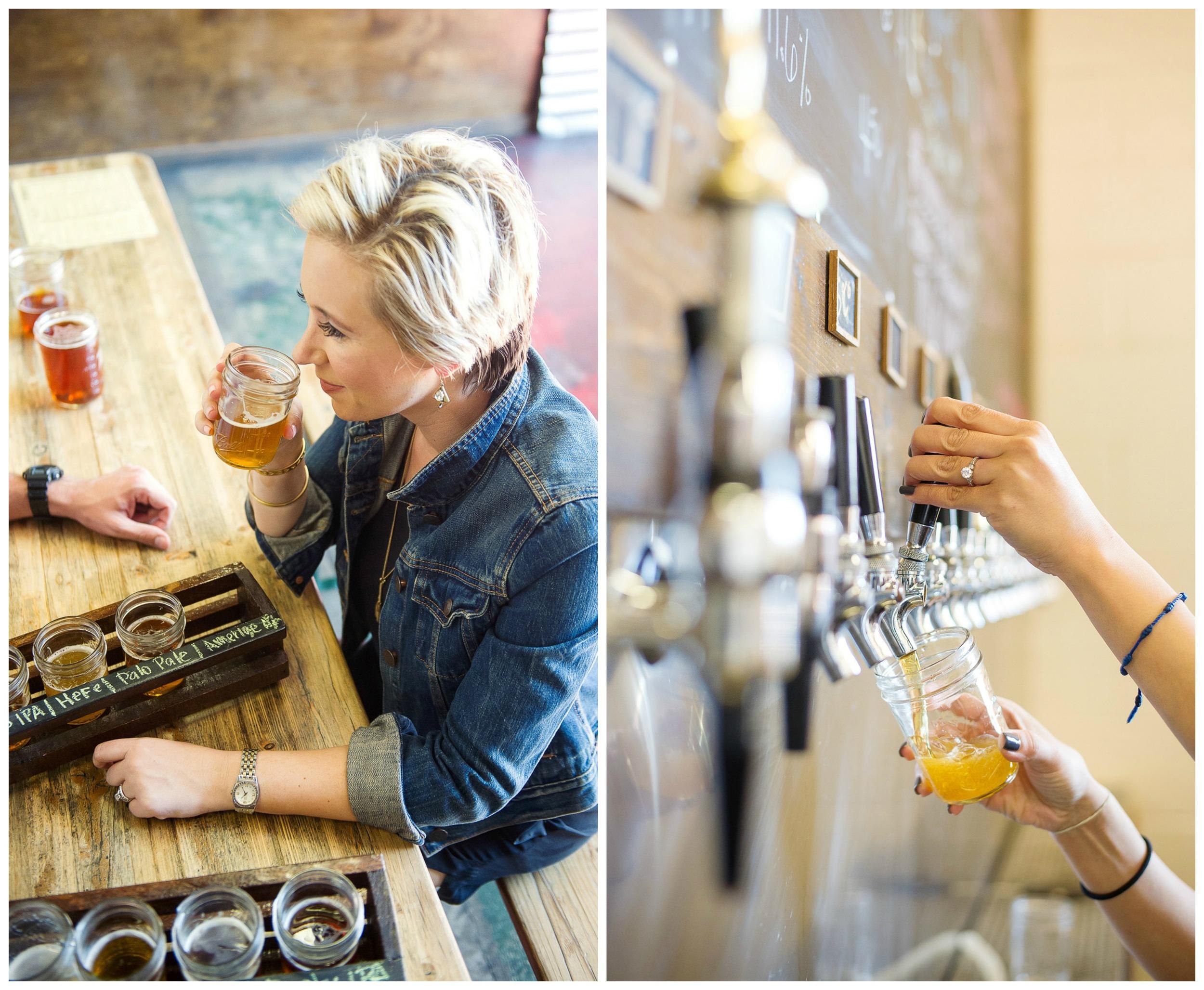 Beer tasting date