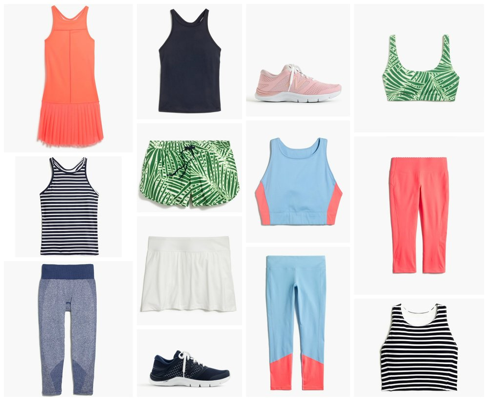 summer workout outfits