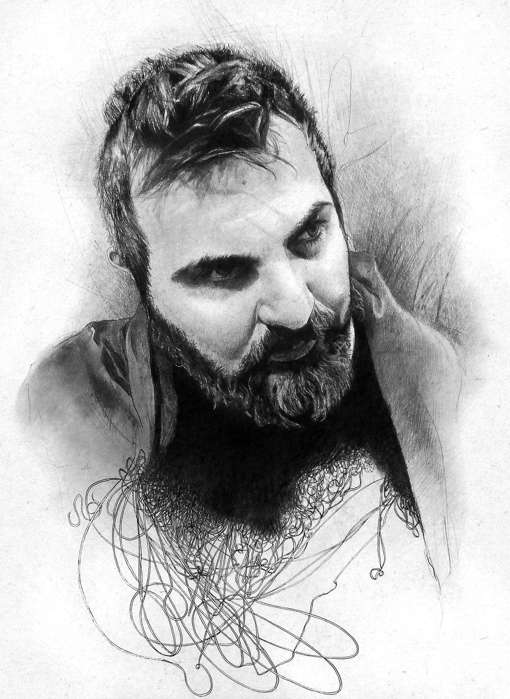 Drawing by Biba Kayewich