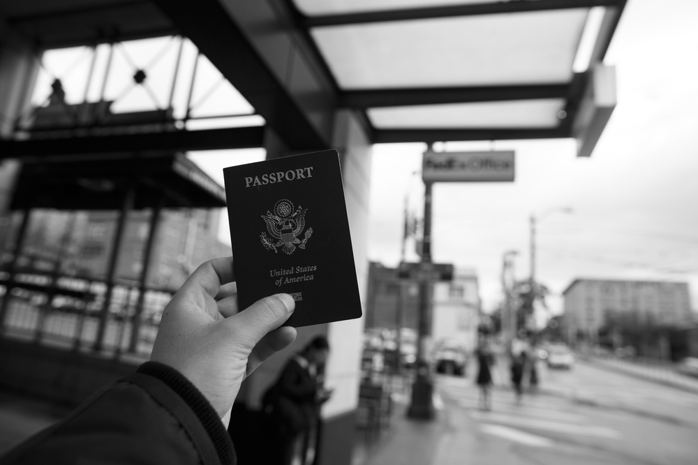 I didn't have my passport when I left California and showing to people that I had to get my passport ship to me mean that nothing about it was a plan and it ended up being the best trip of my life!