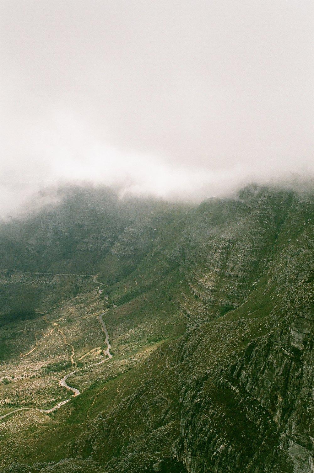 Table Mountain colour palette.
