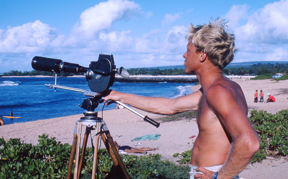 Bruce Brown. Credit: Courtesy Bruce Brown Films, LLC  - Surfer Magazine