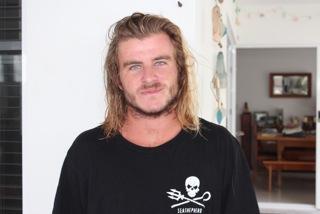 Nouvelle Vague's team member, Joshua Woollett. Sydney, Australia.