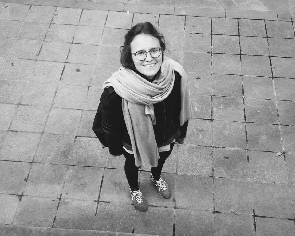Nouvelle Vague's graphic designer, Daria Vuistiner. Switzerland, Europe.