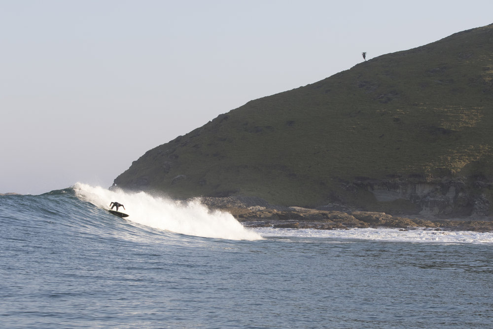 A rural surf on the East Coast.Credit:  Steve Benjamin.
