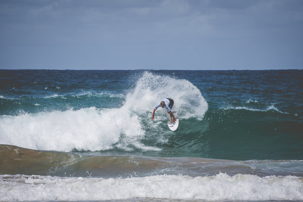 2017 Australian Open of Surfing in Manly, Australia.