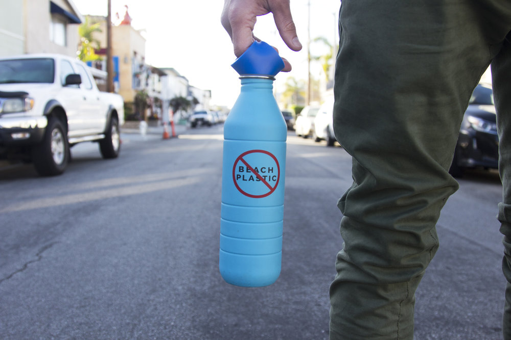 No Beach Plastic - because we need to protect the ocean. Now!