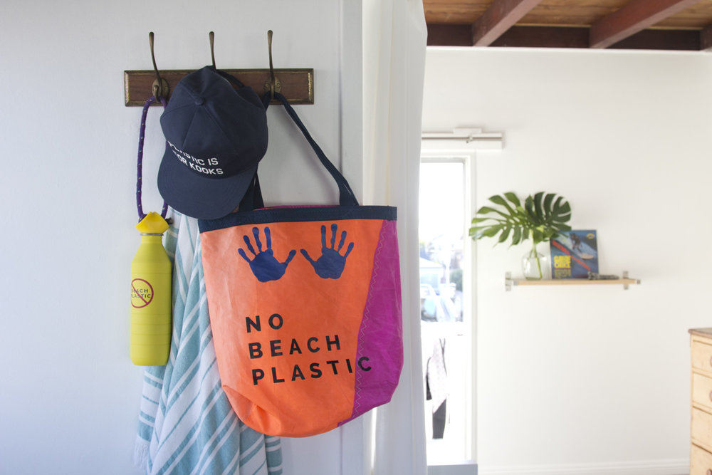We're obsessed with No Beach Plastic - Photo by Chelsea Jeheber