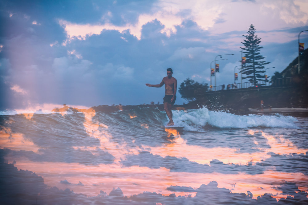 Kirra, Gold Coast. Taken by Brenton De Rooy.