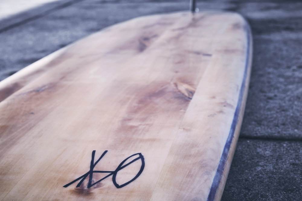It's more than just your typical board; wooden surfboards are a piece of art.