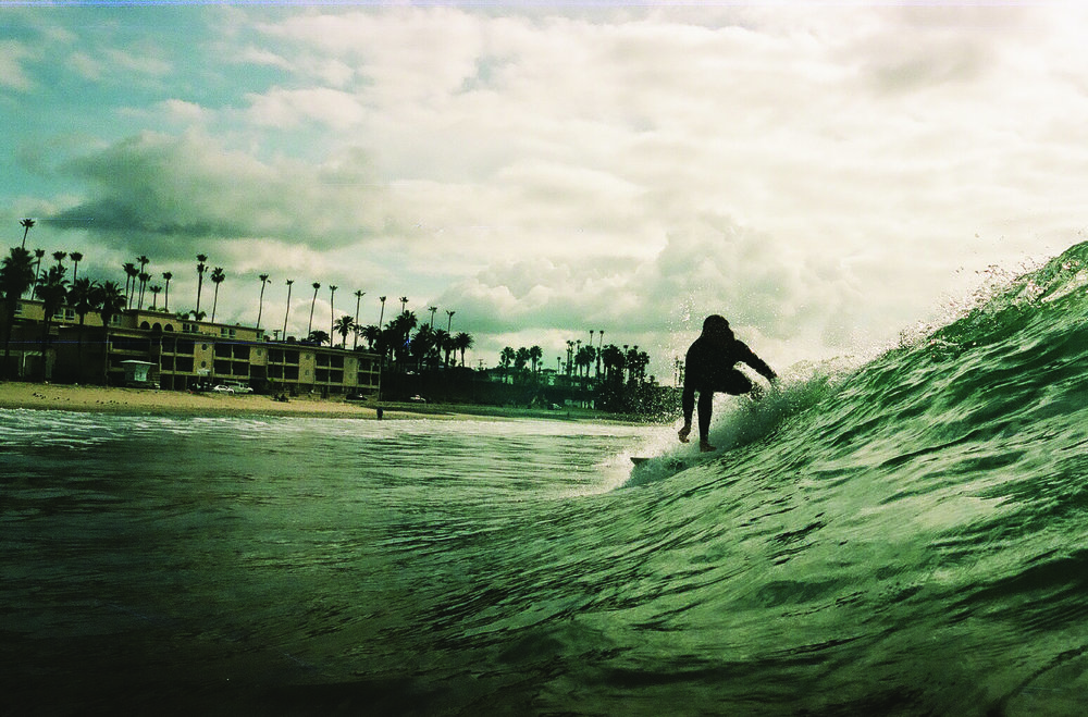 A California kind of summer: surfing and more surfing. Photographer: Maks Eidelson