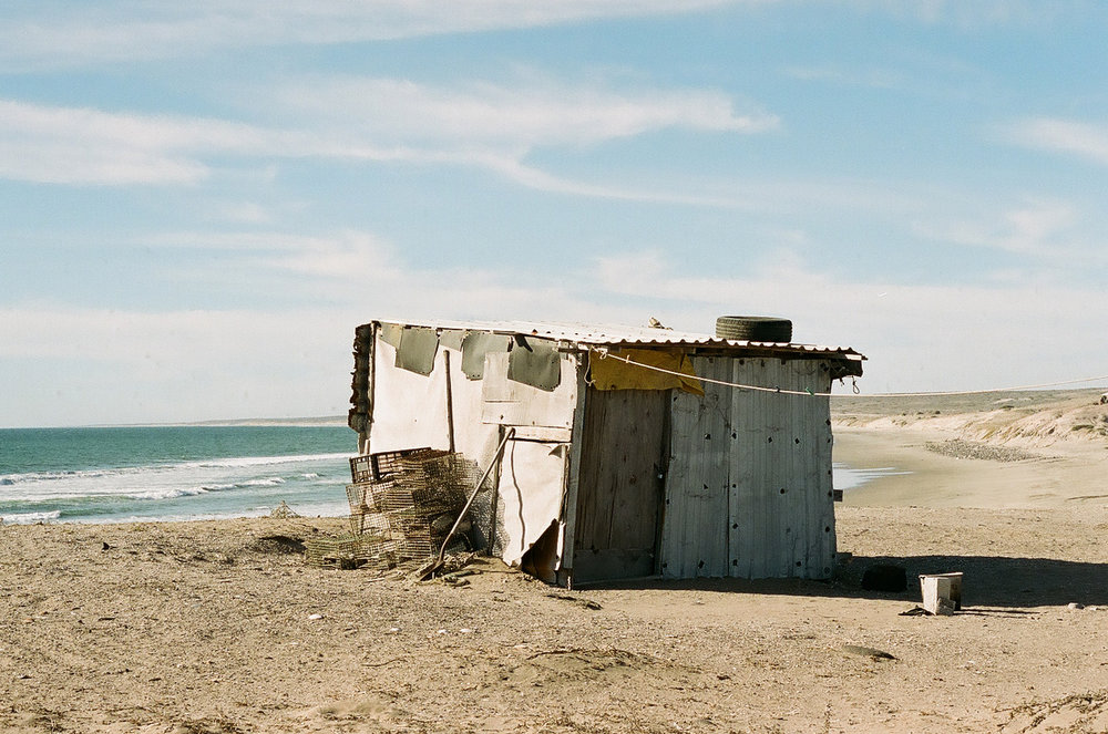 An empty cabin facing the sea in Mexico. Are the waves pumping? Photographer: Maks Eidelson