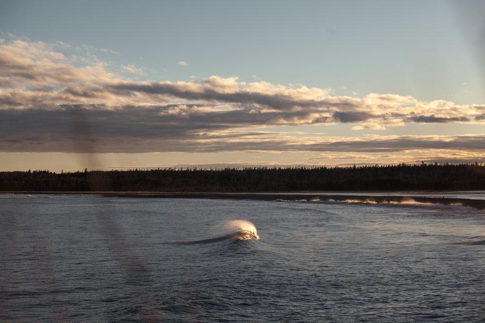 Sunset at Cox Bay, Nova Scotia. Photographer: Catherine Bernier