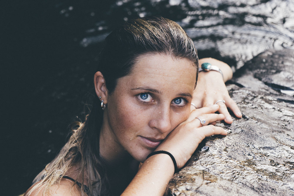 Photographer and writer, Morgan Woods, captured by her Christian Quinlan