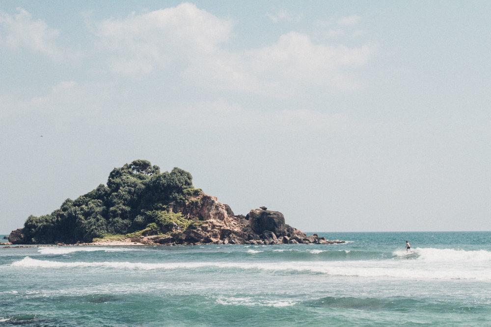 Ahhh, the beaches of Sri Lanka. Simply beautiful. Photo by Morgan Woods & Christian Quinlan