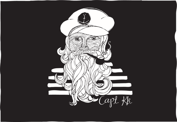 The Sailor by Lizzy Artwork