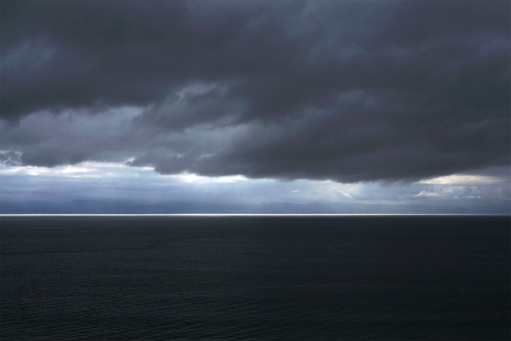 The darkness of the sea on Vancouver Island. Photo by Shayne Stadnick