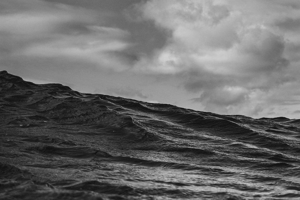 Dark sea by Shayne Stadnick