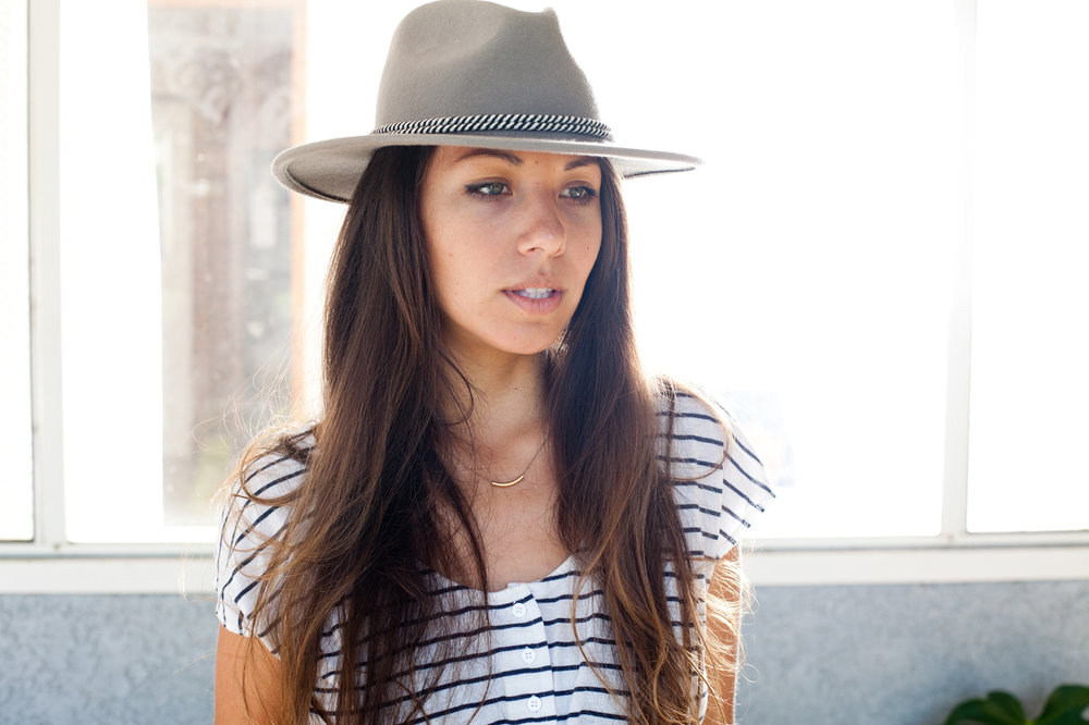 Surfer & photographer,  Corina Barnick .
