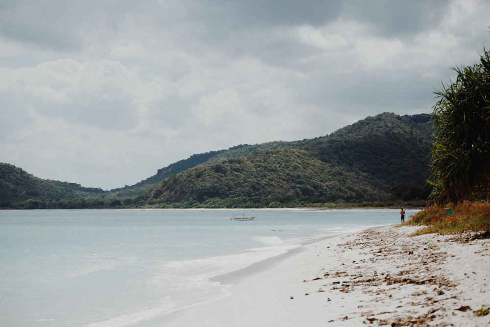 Endless beaches like this one are everywhere in Sumbawa, Indonesia. Photo by Ellen Mary Taylor