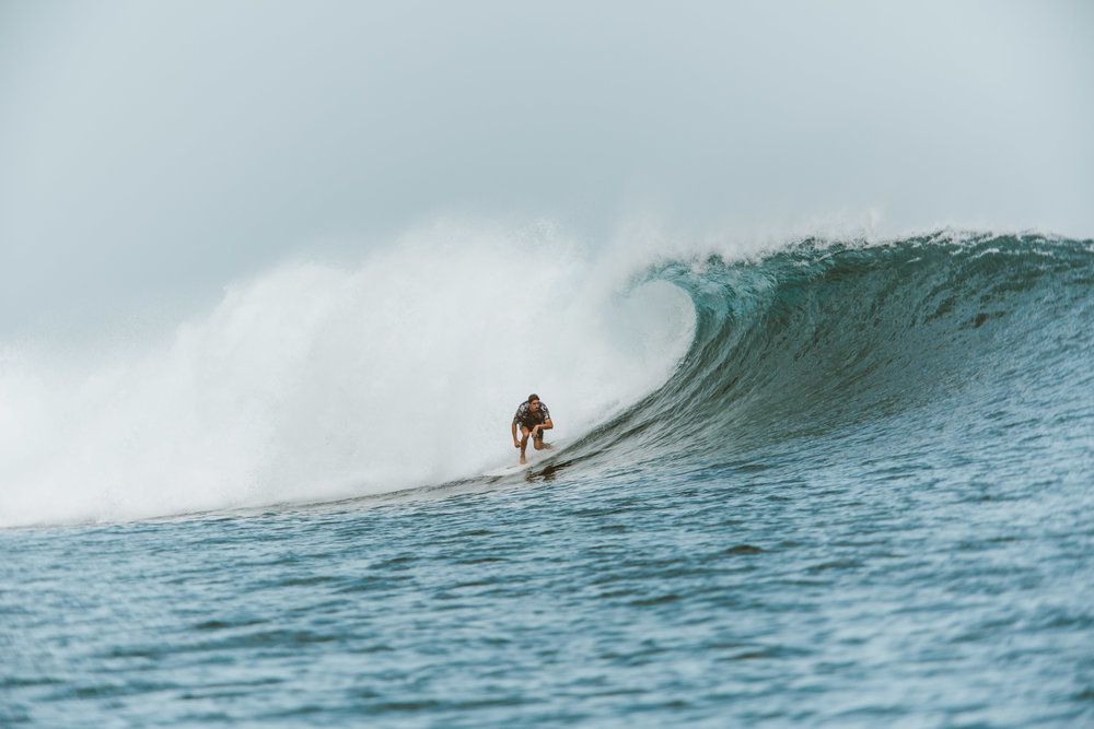 Uncrowded waves are the dream in Sumbawa, Indonesia. Photo by Ellen Mary Taylor