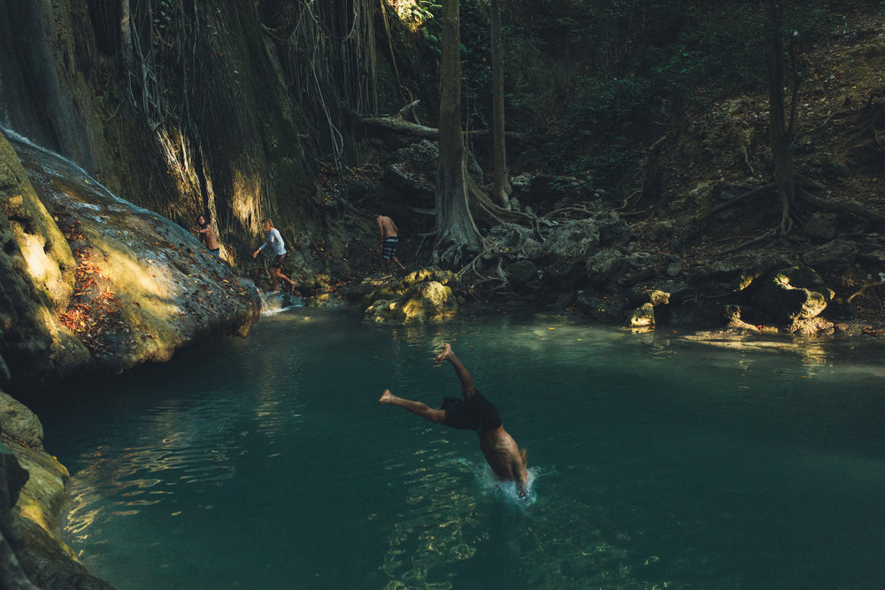 Surreal little oasis in Sumbawa, Indonesia. Photo by Ellen Mary Taylor