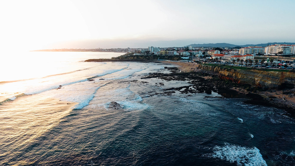 Landscape view of Portugal during the Golden Hour. Photo by Hugo Filipe Silva