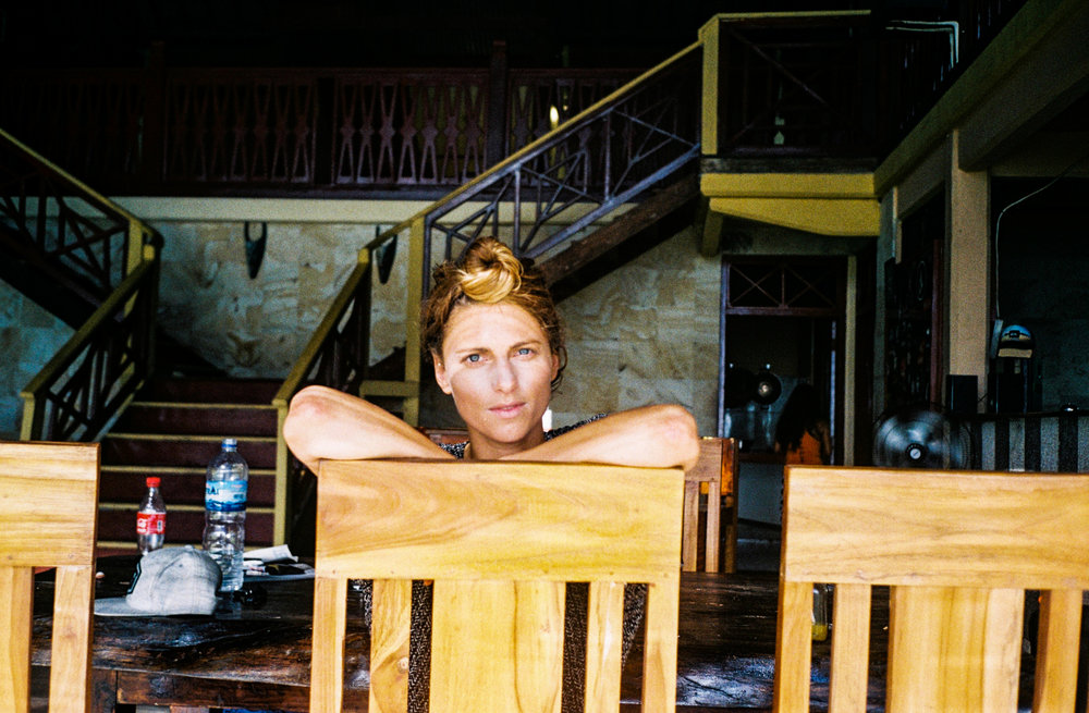 Jette Edens in Bali, Indonesia. Photo by Maeve Stam