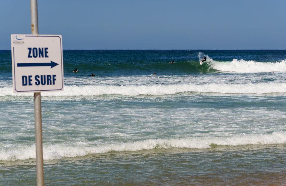 Surf Zone in France taken by Kalen Sutherland