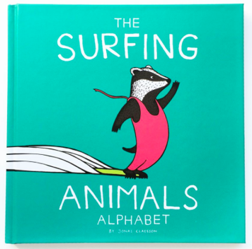 The Surfing Animals by Jonas Claesson