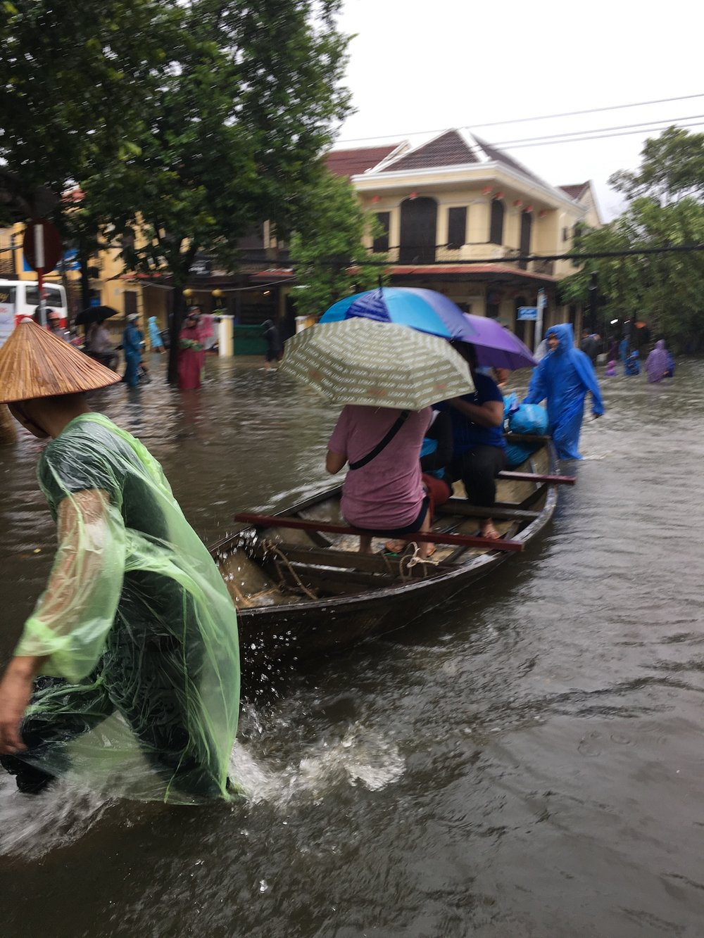 Typhoon Damrey in Hoi An, Vietnam, 2017. Photo by Chelsea Jeheber