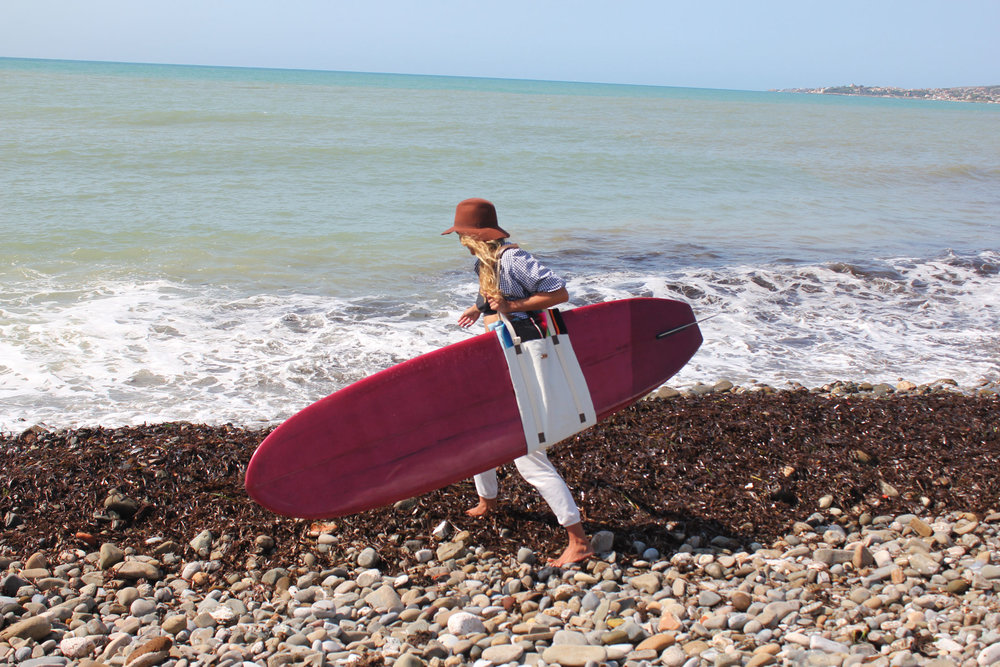 Federica Ubertone, Founder and current owner of Fede Surfbags