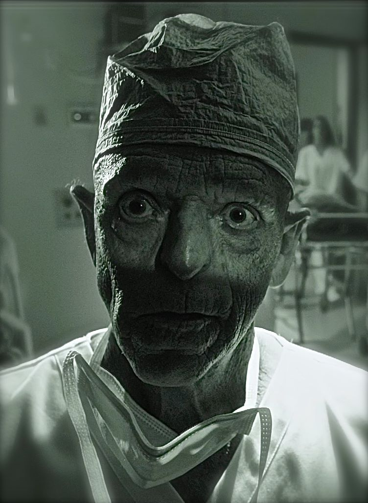 """Michael Berryman plays """"The Surgeon"""" in CURED"""