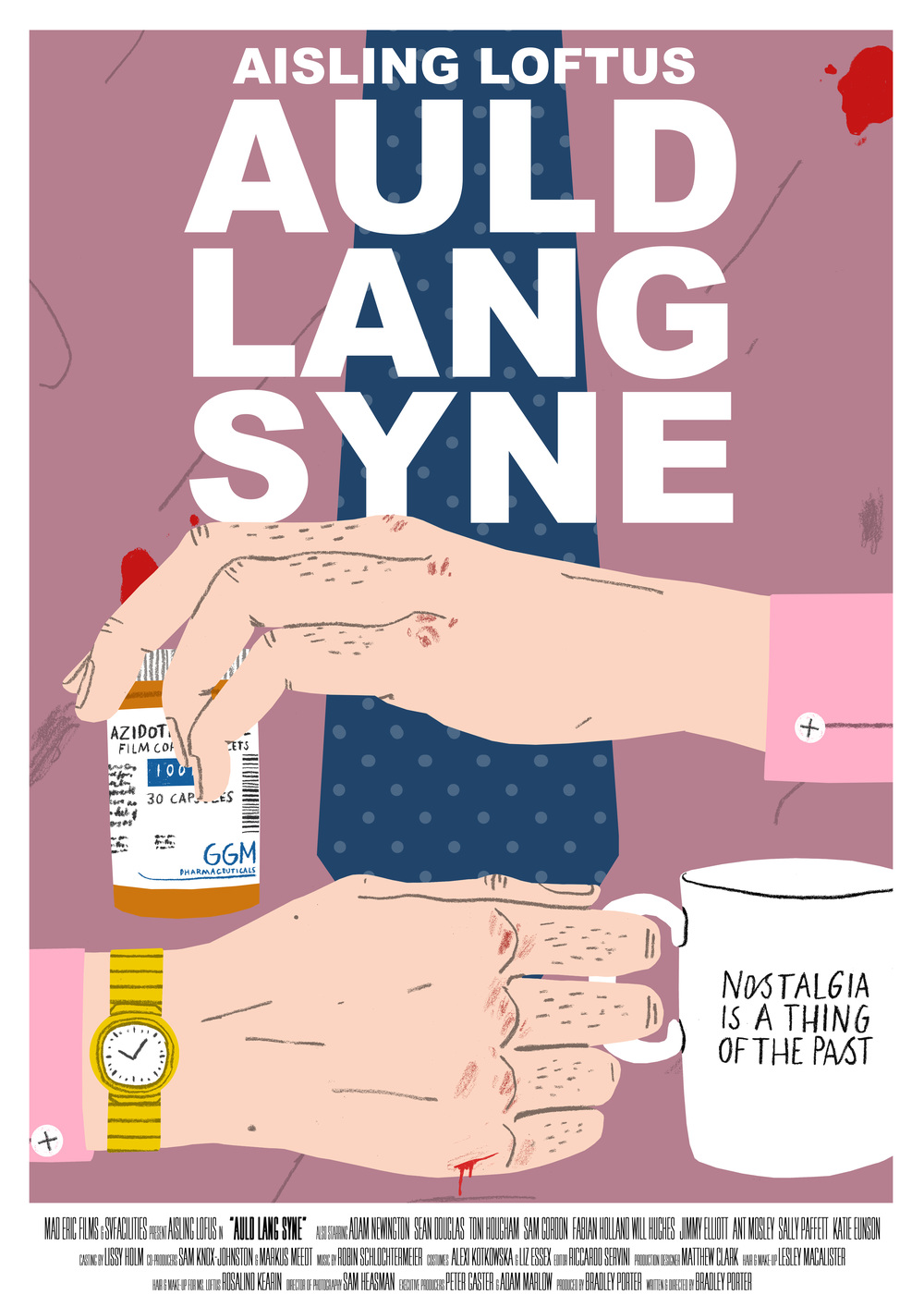 Poster design winners - Auld Lang Syne His