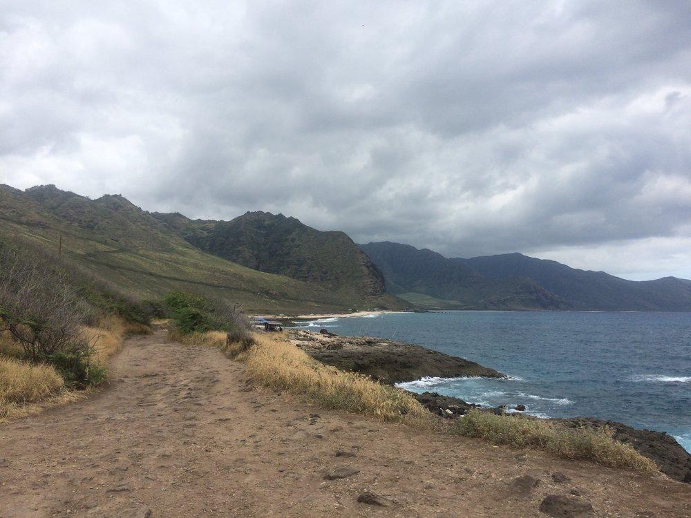 Hike Kaena Point