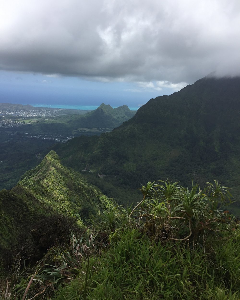 Hiking Nuuanu