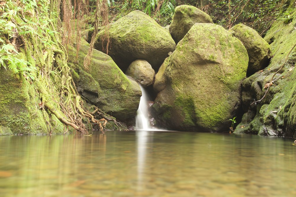 Waiakekua Falls