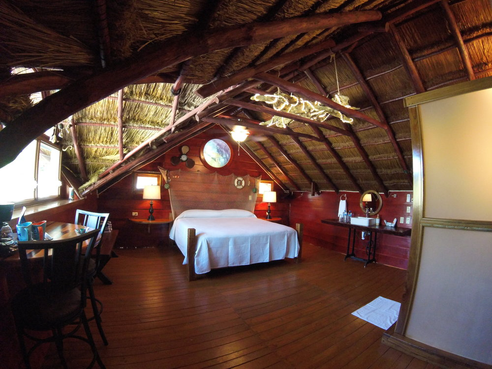 Palapa Suite - *Located up a small flight of stairsPalapa Suite / Ocean ViewsKing Size BedPrivate BathroomMini Fridge & Coffee MakerA/C + WIFI