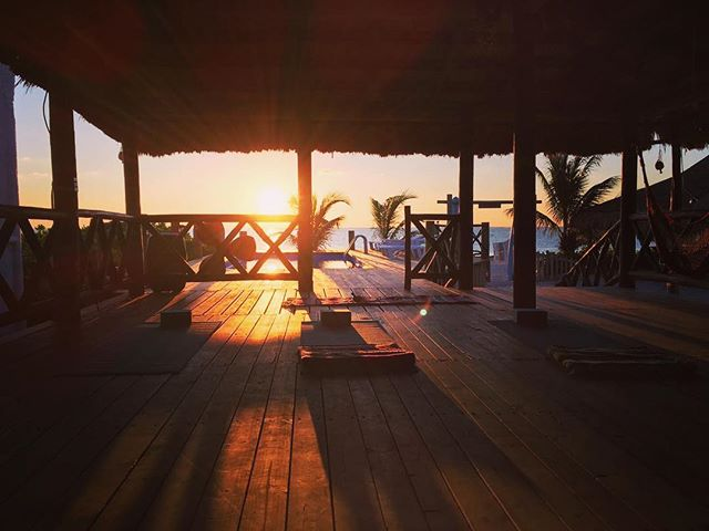 TOMORROW @ 7:30am #morningyogasessions #puertomorelos 🌅✨🙈 so excited!!