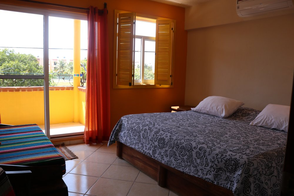 Master Bedroom - Master Suite w/BalconyKing Size BedWalk-in ClosetAC