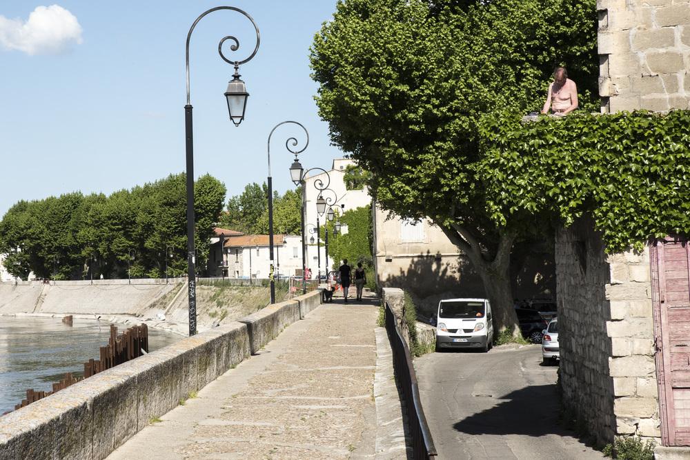 """Arles, mai 2015. Extrait de """"Après 60 ans, le rebond""""."""