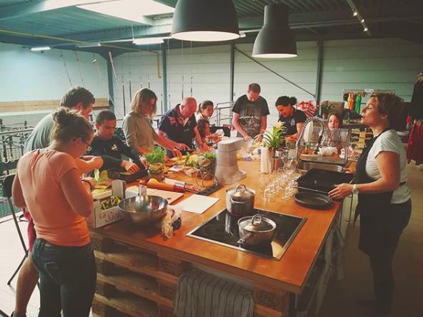 Cours de cuisine - O-Food organise des cours de cuisine à CrossFit Nivelles…