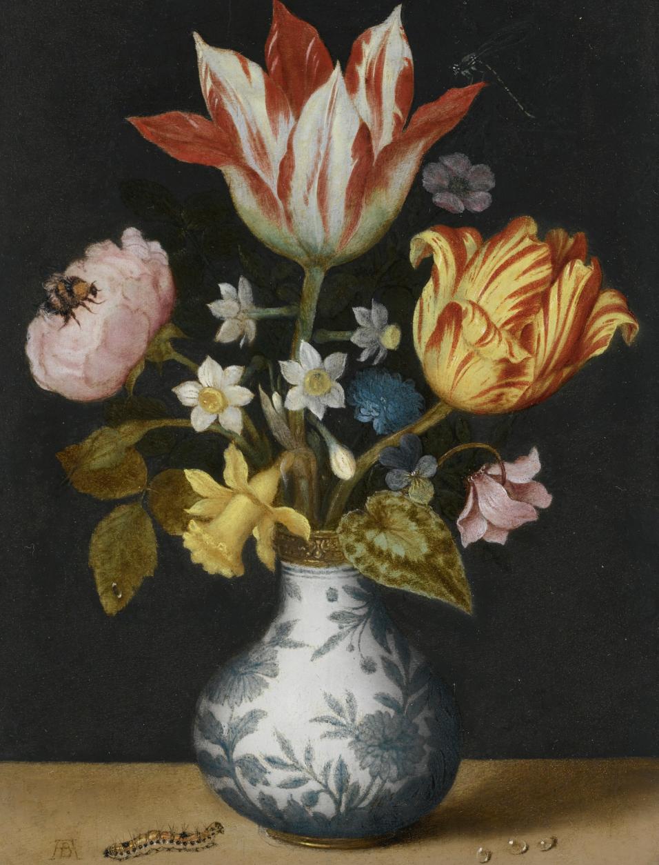 - Ambrosius Bosschaert the Elder (Antwerp 1573–1621 The Hague)Still Life of Flowers in a Wan-Li Vase