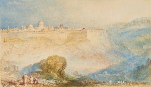 - J.M.W. Turner, R.A. (London 1775–1851 London)Jerusalem