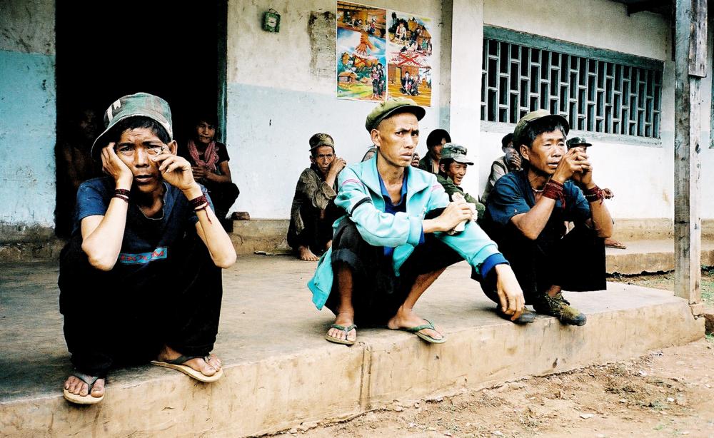 Dag 2 på afvænningscentret i Burma - ingen siger et ord