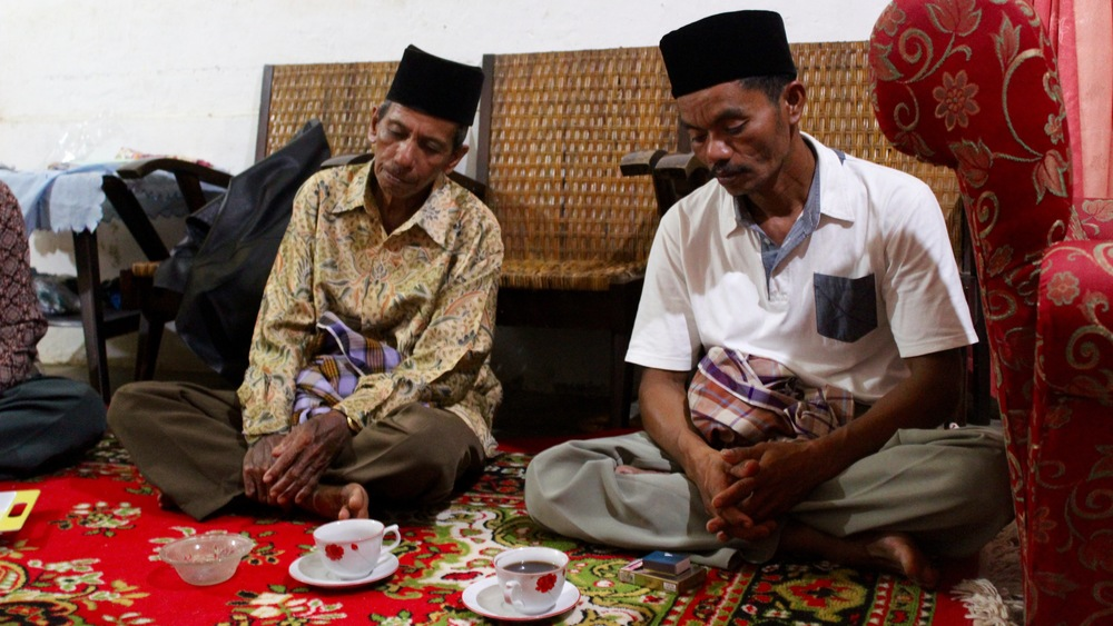 Pak Ruslan and Pak Detri Kaputra