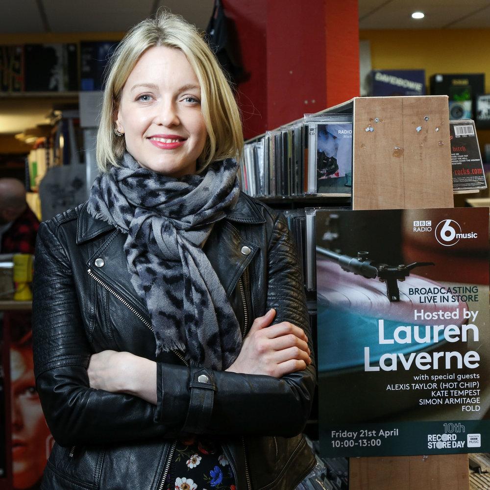 BBC 6 Music presenter, Lauren Laverne
