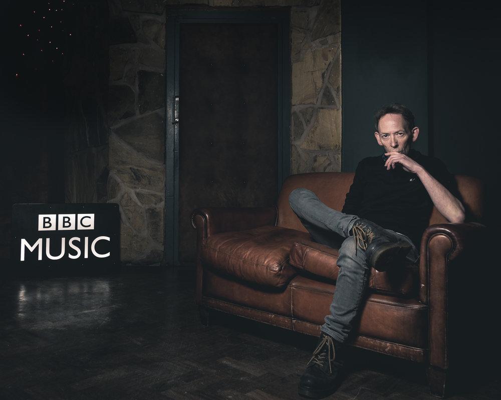 BBC DJ Steve Lamacq