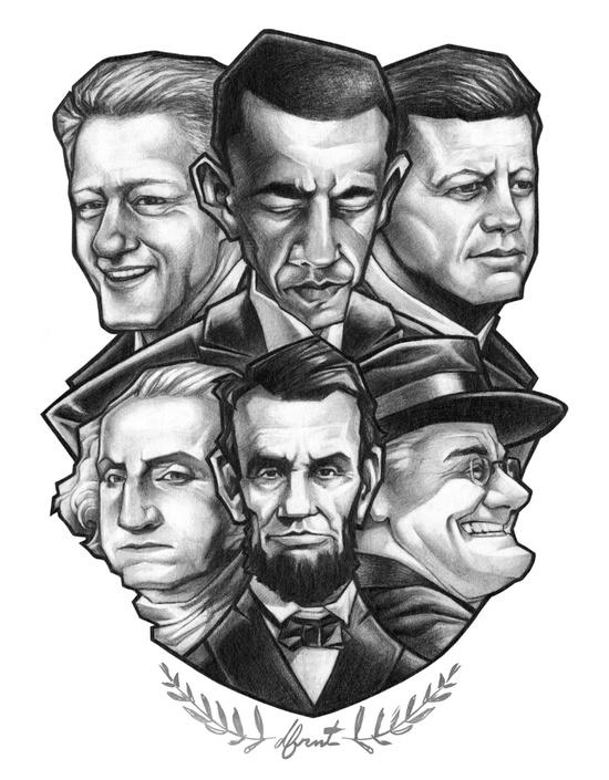 6 PRESIDENTS