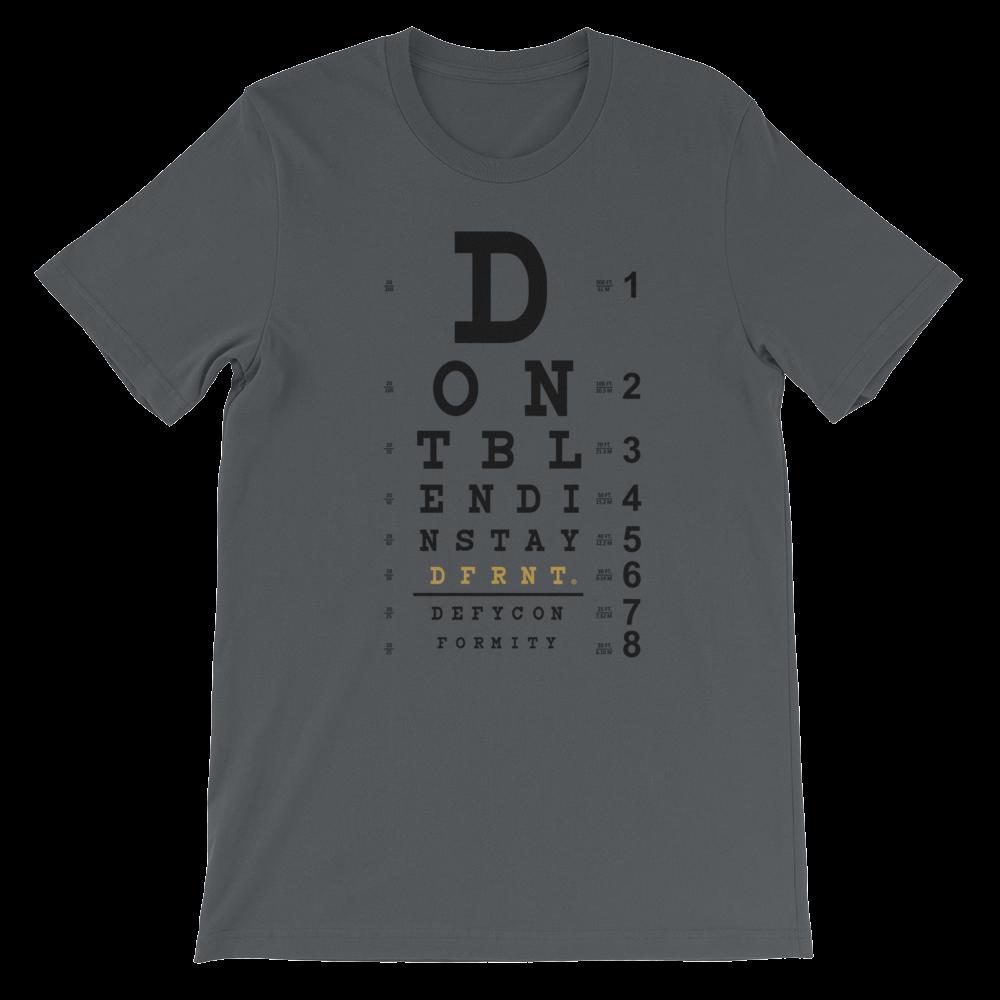 dfrnt_DONT_BLEND_IN_EYE_CHART_shirt_men_Black_Gold_printfile_02A_mockup_Front_Flat_Asphalt.png